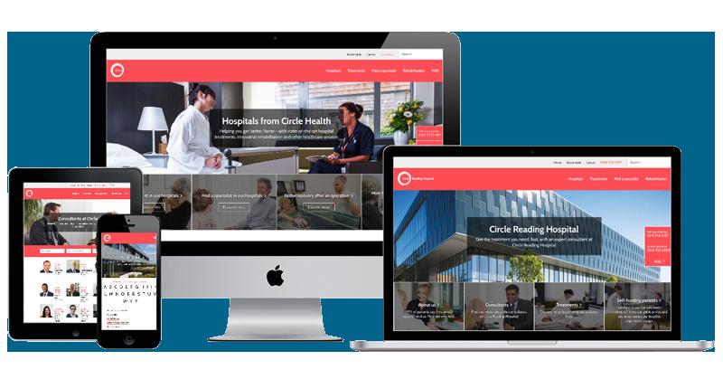 Medico-circle-health-website-redevelopment